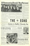 The Echo: October 26, 1961 by Taylor University