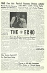 The Echo: May 4, 1962 by Taylor University