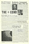 The Echo: May 18, 1962 by Taylor University
