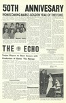 The Echo: October 25, 1963 by Taylor University