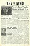 The Echo: March 6, 1964 by Taylor University