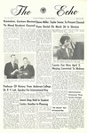 The Echo: March 26, 1965 by Taylor University