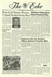 The Echo: April 29, 1966 by Taylor University