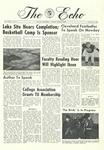 The Echo: November 4, 1966 by Taylor University