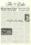 The Echo: November 25, 1966 by Taylor University