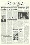 The Echo: February 17, 1967 by Taylor University