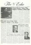 The Echo: March 9, 1968 by Taylor University