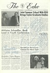 The Echo: March 29, 1968 by Taylor University