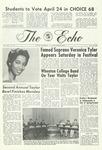 The Echo: April 19, 1968 by Taylor University