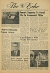 The Echo: October 11, 1968 by Taylor University