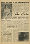 The Echo: October 25, 1968 by Taylor University