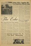 The Echo: November 1, 1968 by Taylor University