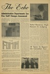 The Echo: January 10, 1969 by Taylor University