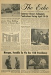 The Echo: April 18, 1969 by Taylor University