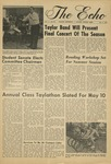 The Echo: May 2, 1969 by Taylor University