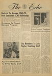 The Echo: May 16, 1969 by Taylor University