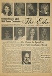 The Echo: October 3, 1969 by Taylor University