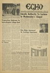 The Echo: April 24, 1970 by Taylor University