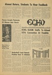 The Echo: May 1, 1970 by Taylor University
