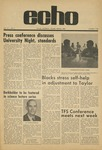 The Echo: October 9, 1970 by Taylor University
