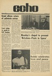 The Echo: October 30, 1970 by Taylor University