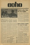 The Echo: November 6, 1970 by Taylor University