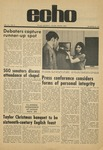 The Echo: November 20, 1970 by Taylor University