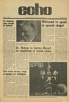 The Echo: January 15, 1971 by Taylor University