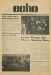 The Echo: January 22, 1971 by Taylor University