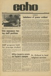 The Echo: February 5, 1971 by Taylor University