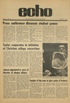 The Echo: February 12, 1971 by Taylor University