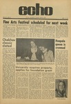 The Echo: April 16, 1971 by Taylor University