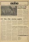 The Echo: December 8, 1972
