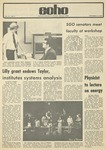 The Echo: September 14, 1973 by Taylor University