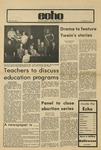 The Echo: October 26,1973 by Taylor University
