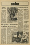 The Echo: November 2, 1973 by Taylor University