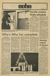 The Echo: November 16, 1973 by Taylor University