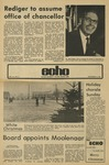 The Echo: December 14, 1973 by Taylor University