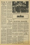 The Echo: April 19, 1974 by Taylor University
