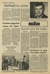 The Echo: April 26, 1974 by Taylor University