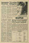 The Echo: September 27, 1974 by Taylor University