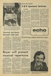 The Echo: October 4, 1974 by Taylor University