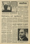The Echo: November 8, 1974 by Taylor University