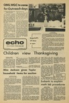 The Echo: November 22, 1974 by Taylor University