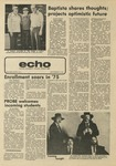 The Echo: September 12, 1975 by Taylor University