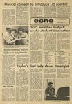 The Echo: September 19, 1975 by Taylor University