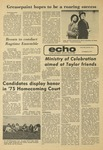 The Echo: October 10, 1976 by Taylor University