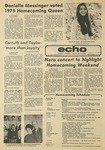 The Echo: October 17, 1975 by Taylor University