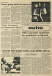 The Echo: November 14, 1975 by Taylor University