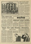 The Echo: December 12, 1975 by Taylor University